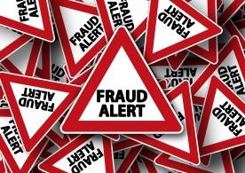 Fraud alert = alerte à la fraude